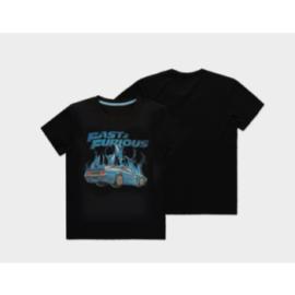 Universal - Fast & Furious - Blue Flames - Men's Short Sleeved T-shirt