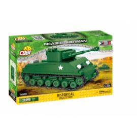 Cobi - Historical Collection World War II Tanks M4A3E8 SHERMAN