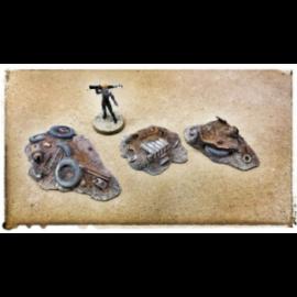 Kraken Wargames: Scrap Piles S