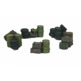 Kraken Wargames: Scrap Supply Set without base