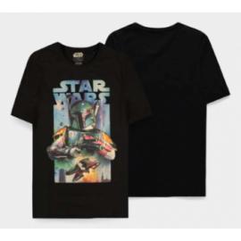 Star Wars - Boba Fett Poster - Men's Short Sleeved T-shirt