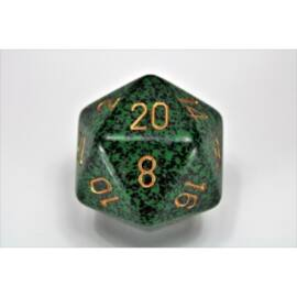 Chessex Speckled 34mm 20-Sided Dice - Golden Recon