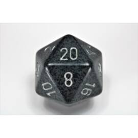 Chessex Speckled 34mm 20-Sided Dice - Hi-Tech