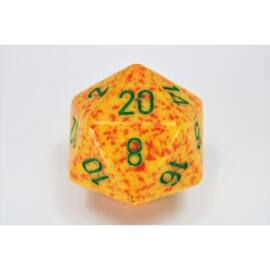 Chessex Speckled 34mm 20-Sided Dice - Lotus