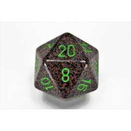 Chessex Speckled 34mm 20-Sided Dice - Earth