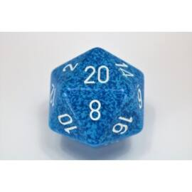Chessex Speckled 34mm 20-Sided Dice - Water