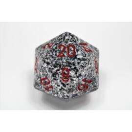 Chessex Speckled 34mm 20-Sided Dice - Granite