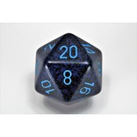 Chessex Speckled 34mm 20-Sided Dice - Cobalt