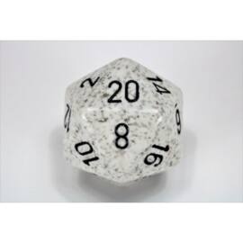 Chessex Speckled 34mm 20-Sided Dice - Arctic Camo
