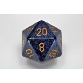 Chessex Speckled 34mm 20-Sided Dice - Golden Cobalt