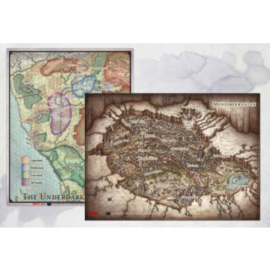 """D&D - Out of the Abyss Map Set (23x16"""", 20""""x16"""")"""""""