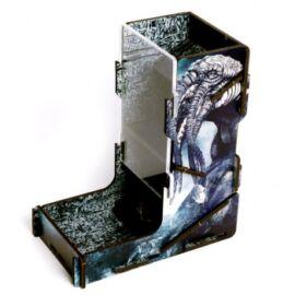e-Raptor Dice Tower UV Print Old God