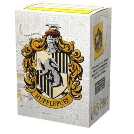 Dragon Shield Matte Art Sleeves - Wizarding World - Hufflepuff (100 Sleeves)