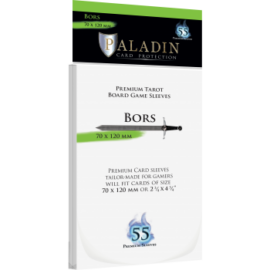 Paladin Sleeves - Bors Premium Tarot 70x120mm (55 Sleeves)