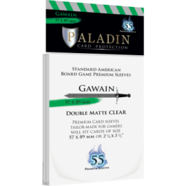 Paladin Sleeves - Gawain Premium Standard American 57x89mm (55 Sleeves)