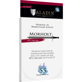 Paladin Sleeves - Morholt Premium XL 89x146mm (55 Sleeves)