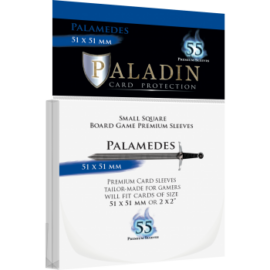 Paladin Sleeves - Palamedes Premium Small Square 51x51mm (55 Sleeves)