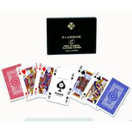 Playing Cards - Bridge-Rummy Doppelspiel