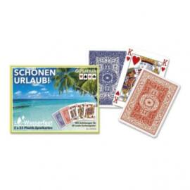 Playing Cards - Schönen Urlaub, Doppelspiel