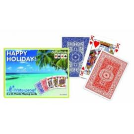 Playing Cards - Happy Holiday