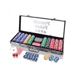 Piatnik Poker Set 500 High Gloss Chips