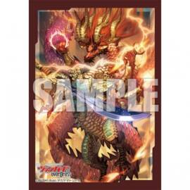 Bushiroad Sleeve Collection Mini Extra Vol.77 Cardfight!! Vanguard overDress - Dragon King Dragveda of Rebirth (70 Sleeves)