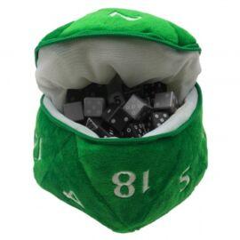 UP - D20 Plush Dice Bag - Green