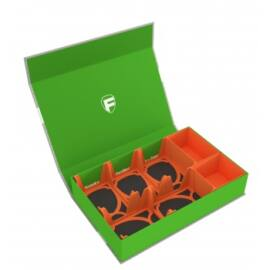 Feldherr Magnetic Box green for cards and game material - 750 cards in Standard Card Game Size + tokens