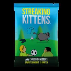 Exploding Kittens - Streaking Kittens (12er-Display) - DE