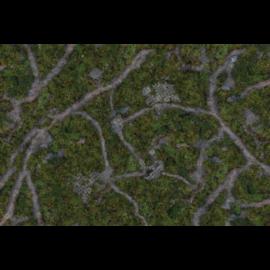 Kraken Wargames Gaming Mat - Ancient Green 6x3 2.0
