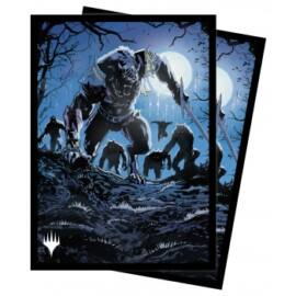 UP - Standard Sleeves for Magic: The Gathering - Innistrad Midnight Hunt V5 (100 Sleeves)