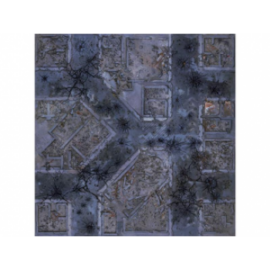 Kraken Wargames Gaming Mat - Warzone City 4x4 2.0