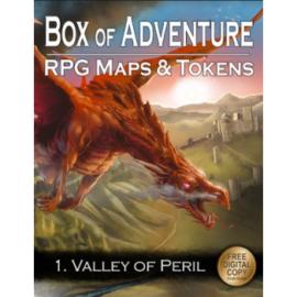 Loke Battle Mats' Box of Adventure  Valley of Peril - EN