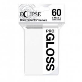 UP - Small Sleeves - Gloss Eclipse - Arctic White (60 Sleeves)