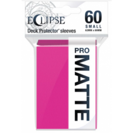 UP - Eclipse Matte Small Sleeves: Hot Pink (60 Sleeves)