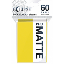 UP - Eclipse Matte Small Sleeves: Lemon Yellow (60 Sleeves)