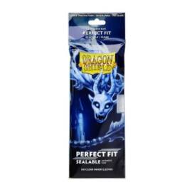 Dragon Shield Japanese Size Perfect Fit Sealable Inner Sleeves - Clear Yama (100 Sleeves)