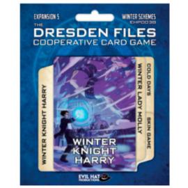 Dresden Files Cooperative Card Game: Winter Schemes - EN