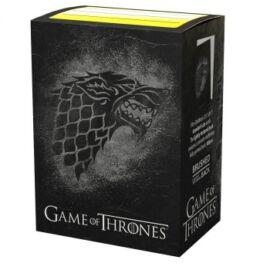 Dragon Shield Standard Sleeves - Game of Thrones House Stark (100 Sleeves)