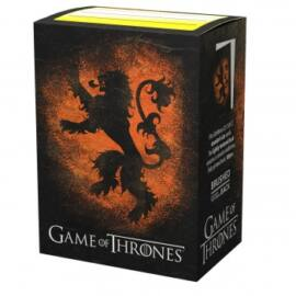 Dragon Shield Standard Sleeves - Game of Thrones House Lannister (100 Sleeves)