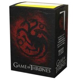Dragon Shield Standard Sleeves - Game of Thrones House Targaryen (100 Sleeves)