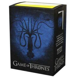 Dragon Shield Standard Sleeves - Game of Thrones House Greyjoy (100 Sleeves)