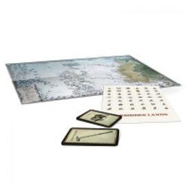 Die Verbotenen Lande - Die Frostweiten  Karte & Spielkarten - DE