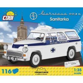 Cobi - Youngtimer Warszawa 223 K Ambulance vehicle model