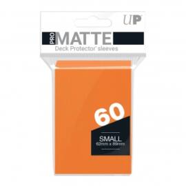 UP - Small Sleeves - Pro-Matte - Orange (60 Sleeves)