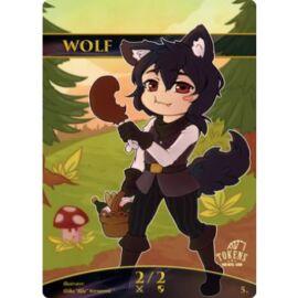 Tokens for MTG - Wolf Chibi Token (10 pcs)