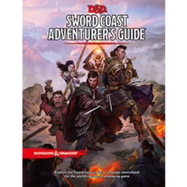 Dungeons & Dragons RPG - Sword Coast Adventurer's Guide - EN
