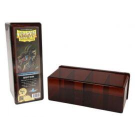 Dragon Shield - 4 Compartment Storage Box - Brown