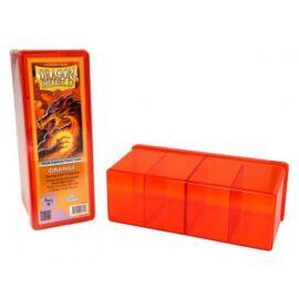 Dragon Shield - 4 Compartment Storage Box - Orange
