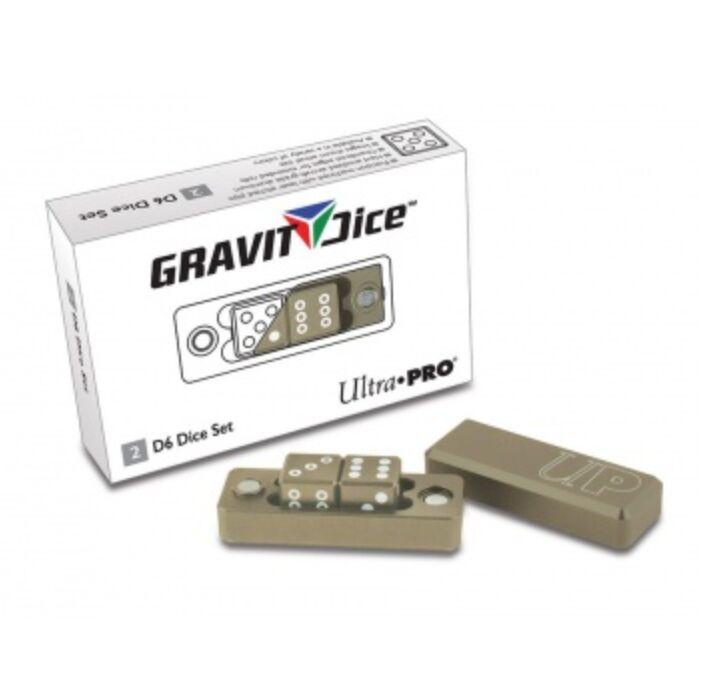 UP - Gravity Dice D6 - Desert - 2 Dice Set